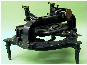 Plate measuring machine by Repsold & Sohne, used for the 1874 Dutch expedition at Reunion