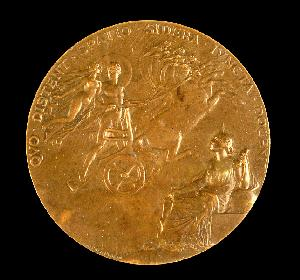 French medal commemorating the 1874 transit